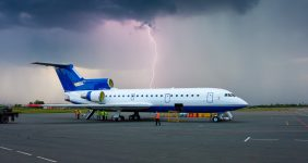 Thousands stranded at Stansted after storms and lightning strikes