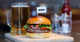 Vegan power: Air New Zealand serves Impossible plant-based burger Impossible Foods