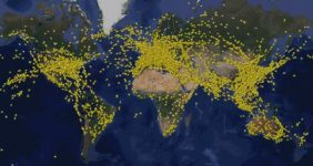 FlightRadar (probably) captured flying's busiest day ever — FlightRadar24