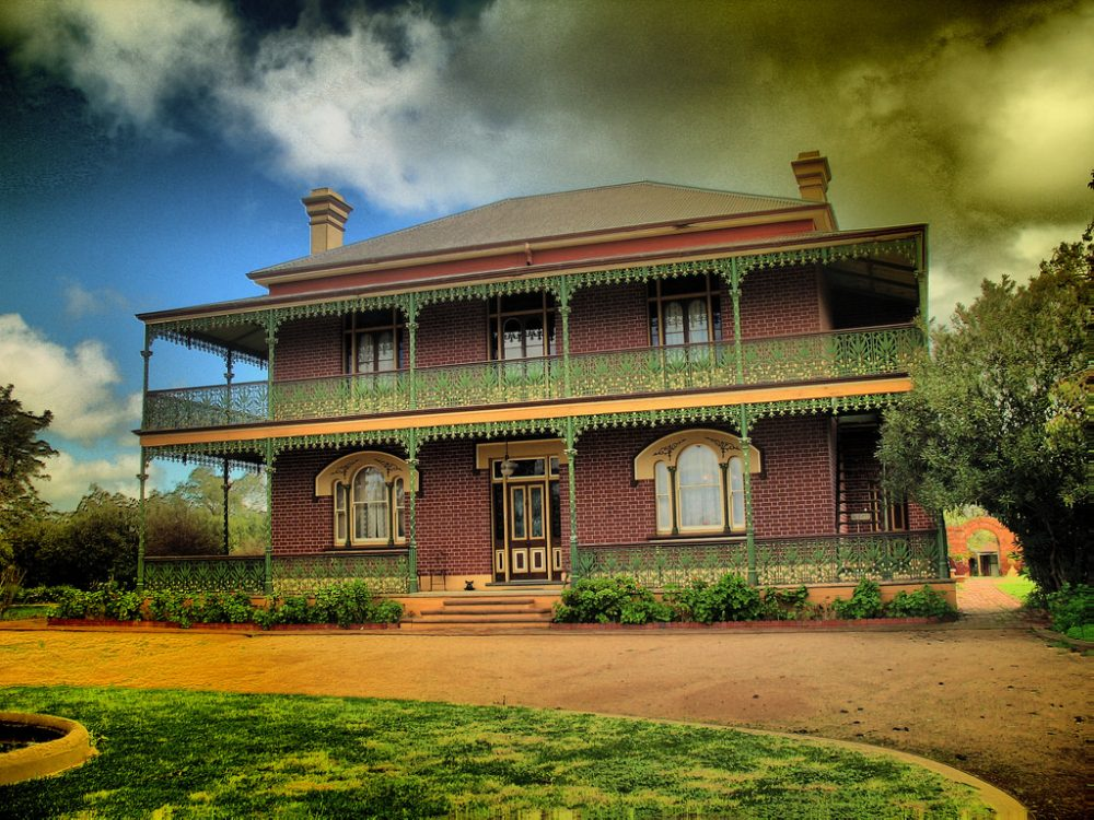 The homestead is probably Australia's most haunted building – Framnton Goodman/flickr