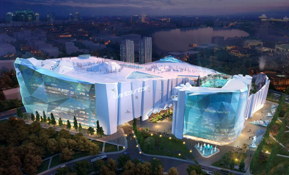 Wintastar Shanghai will be 90,000 square metres in size and will feature three slopes and 25 non-skiing related activities – KOP Properties Shanghai to build world's largest indoor ski resort