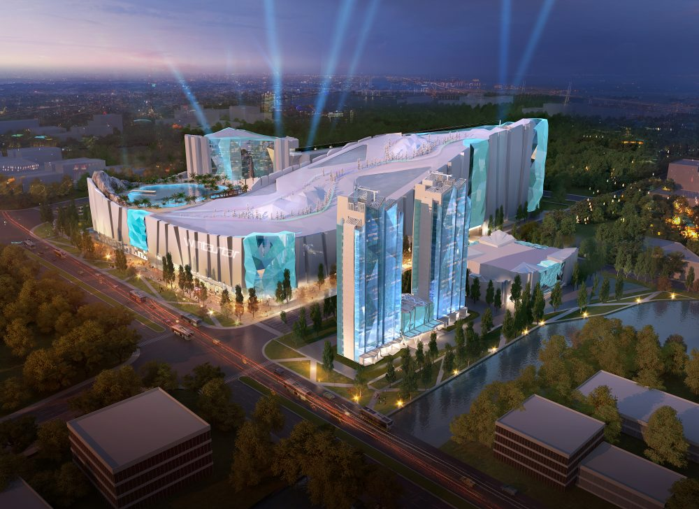 The complex will be three times bigger than Ski Dubai — KOP Properties Shanghai to build world's largest indoor ski resort