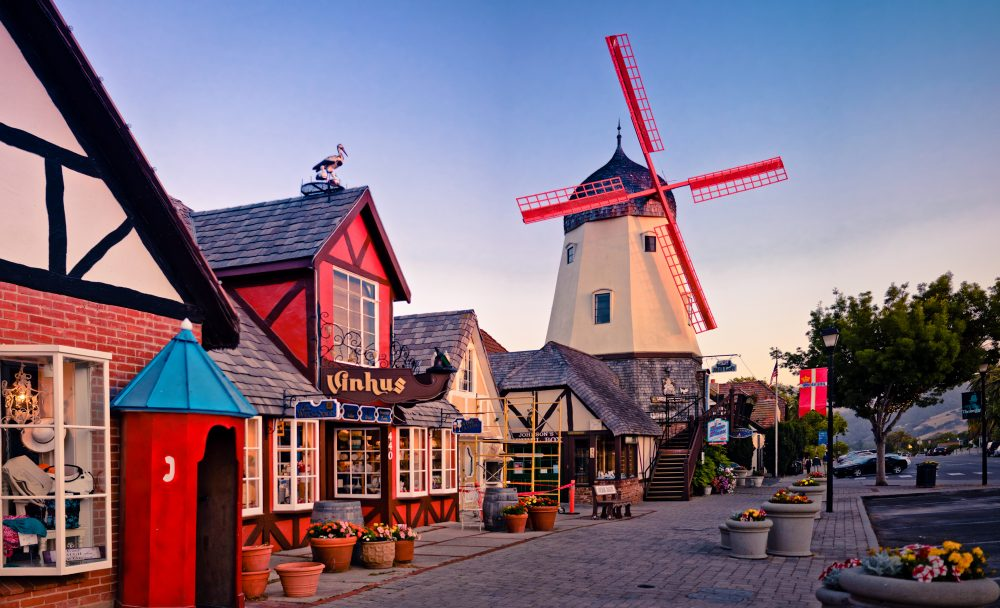 Solvang is home to many bakeries, restaurants and shops that bring a taste of Scandinavia to Santa Barbara County— Shutterstock 7 cities for a cosy winter break