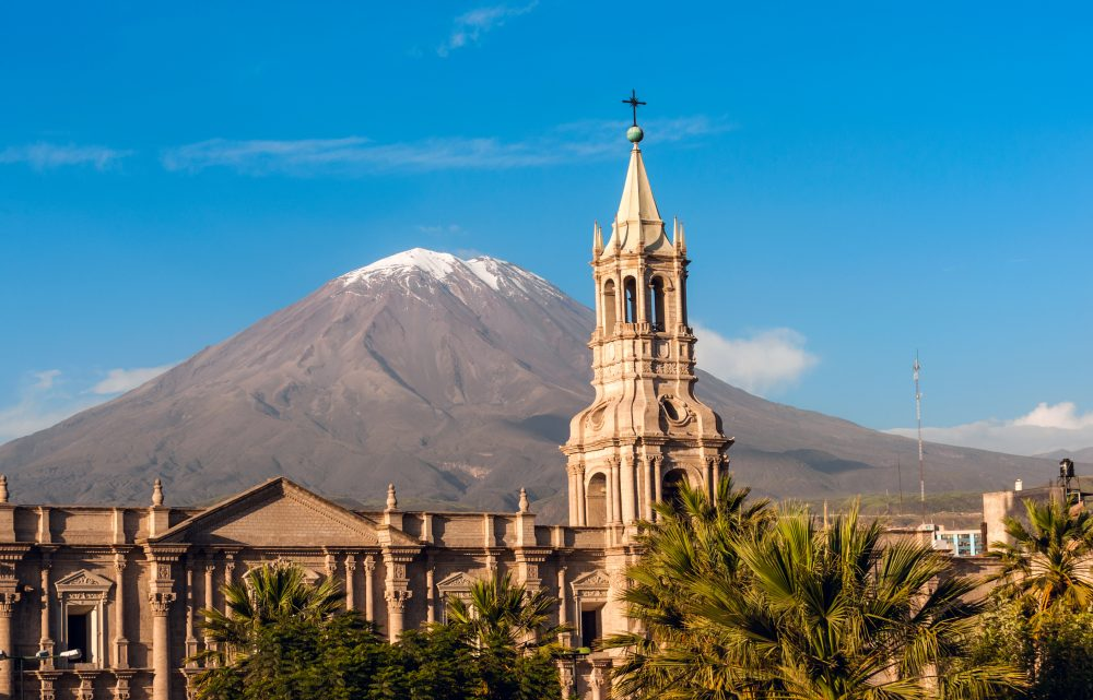 Arequipa features excellent examples of baroque, rococo, neoclassical and modern buildings — Shutterstock 9 best things to do in Peru