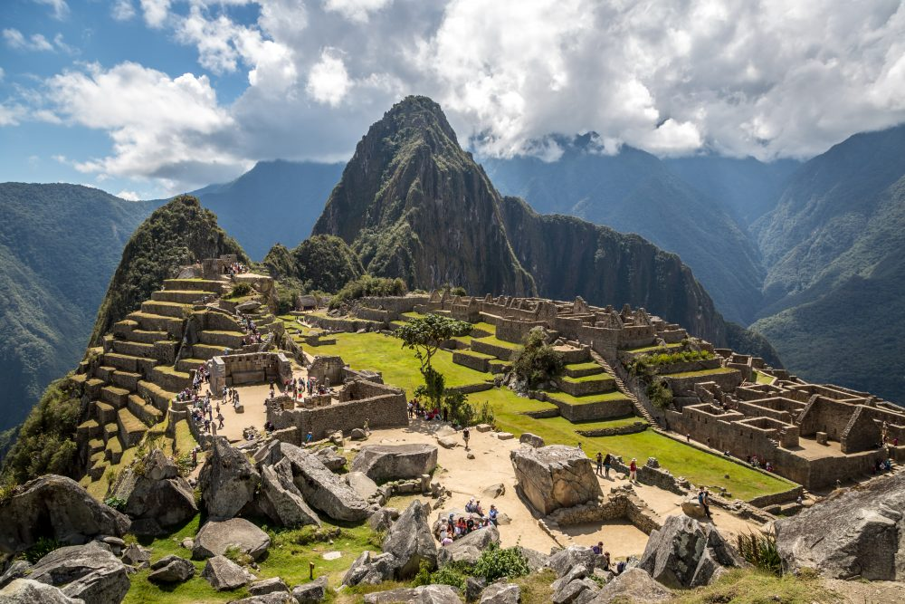 To reach the Peru's most famous tourist landmark, many travellers hike 88 kilometres along the Inca Trail — Shutterstock 9 best things to do in Peru