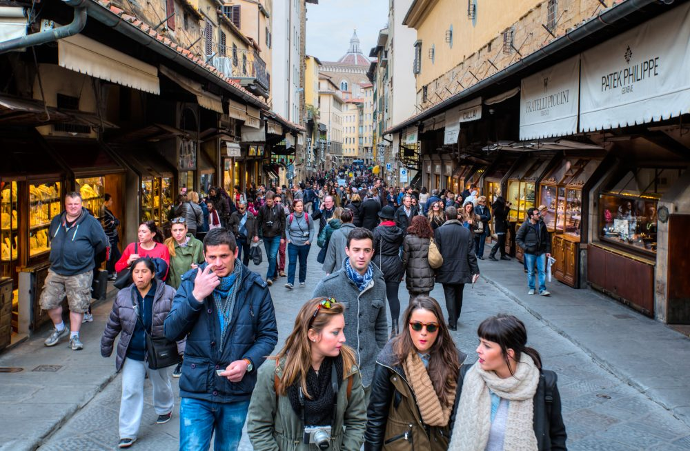 muratart / Shutterstock Florence bans eating in historic centre