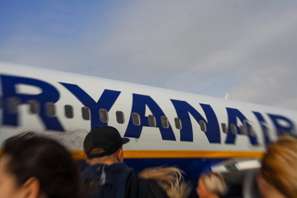 "Cabin crews from 5 European countries plan ""Ryanair's biggest strike"" — Alexandra Lande / Shutterstock Ryanair faces ""biggest strike in its history"""
