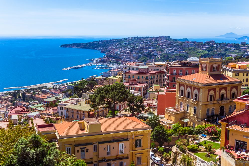United will be the only U.S. carrier to operate nonstop flights to Naples  — Shutterstock