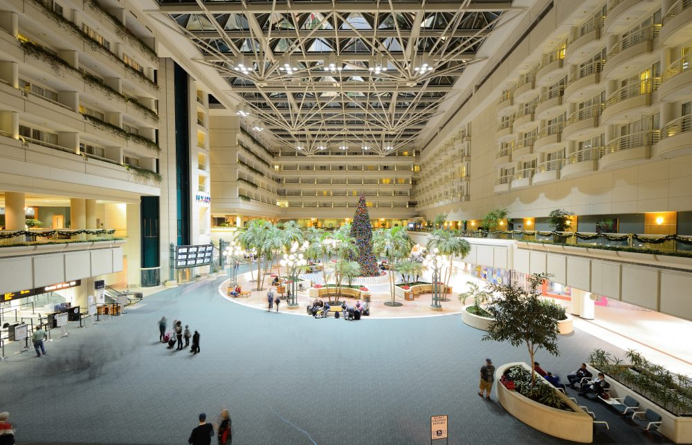 the overall satisfaction score increased by 12 points to 761 overall which is the highest score in the last 13 years Las Vegas and Orlando airports named best in North America, McCarran