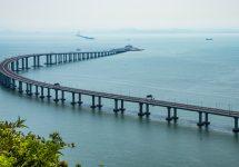 China opens the world's longest sea bridge
