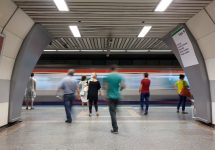 Istanbul metro accepts recycled bottles for tickets — Koraysa / Shutterstock.
