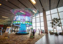 Singapore's Changi offers the best airport experience — Feylite / Shutterstock Singapore's airport Changi has been the most popular among travellers. For 7 years in a row it has been the world's best airport by Skytrax