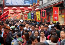 More than 700,000 visitors have come for this year's Qingming festival — testing / Shutterstock