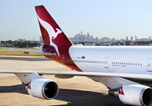 Qantas flies world's first zero-waste flight