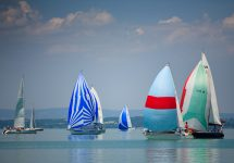 7 European lakeside holidays for 2019 lake beach Regatta sailing on Balaton — Simonovics / Shutterstock