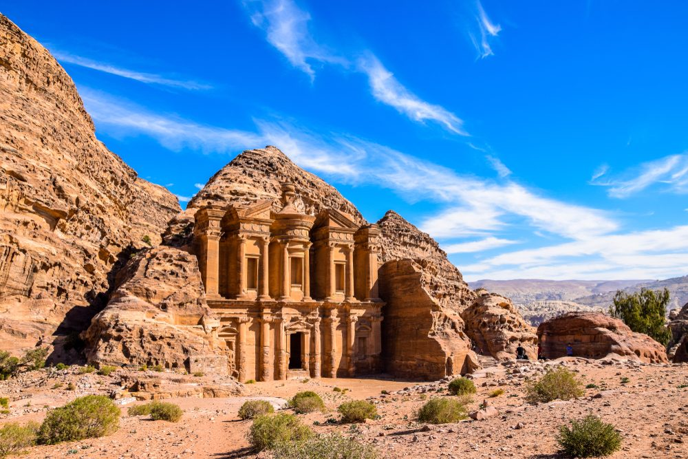 Petra is believed to be settled as early as 9,000 BCE — Shutterstock These new wonders of the world are the most popular on social media