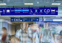 Prague airport introduces information-packed digital signage