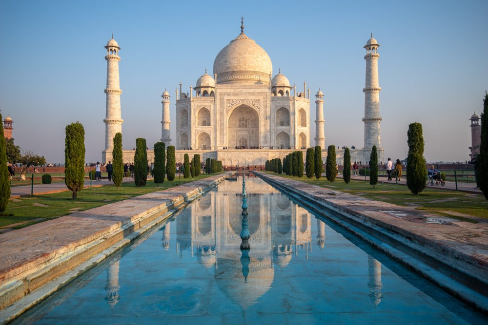 Taj Mahal in India is the most popular of the New7Wonders of the World — zeelichsheng / Shutterstock Instagram hashtags reveal the Seven Modern Wonders of the World