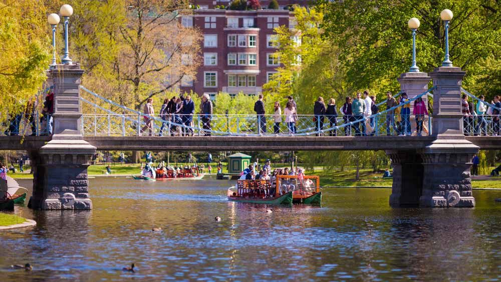 The Public Garden from the first half of the 19th century is one of the most beloved parks in town — Marcio Jose Bastos Silva / Shutterstock 6 easily walkable cities around the world