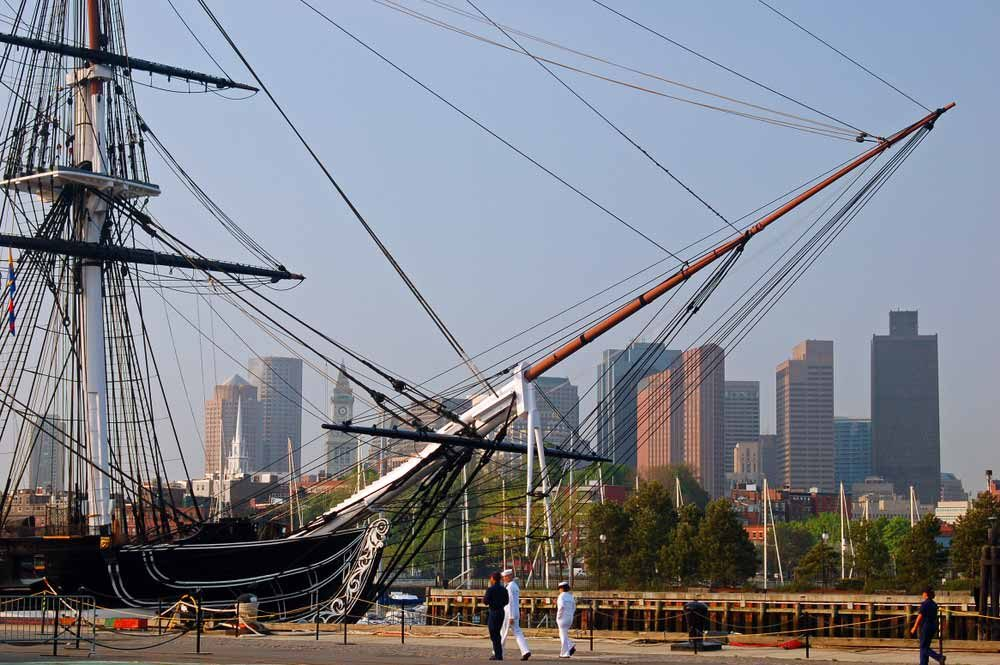 The never-defeated-in-battle USS Constitution is the oldest commissioned naval vessel still afloat today — James Kirkikis / Shutterstock 6 easily walkable cities around the world