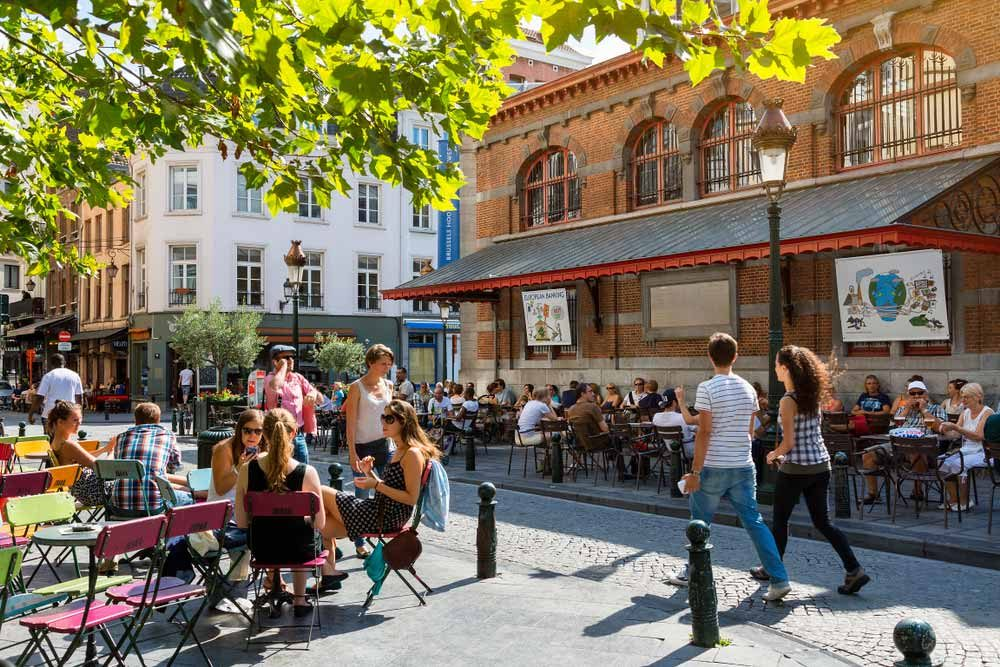Even though Brussels is the regional hub, it's also a pretty laid-back place to visit — s4svisuals / Shutterstock 6 easily walkable cities around the world