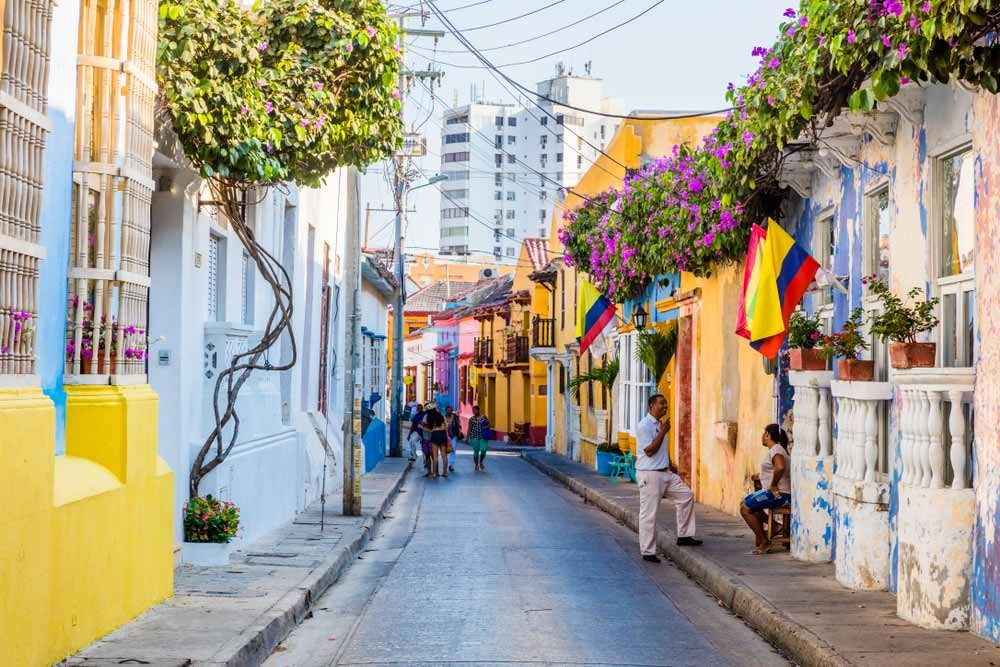 The hip neighbourhood of Getsemani is less touristy and has a more bohemian flair to it — OSTILL is Franck Camhi / Shutterstock 6 easily walkable cities around the world