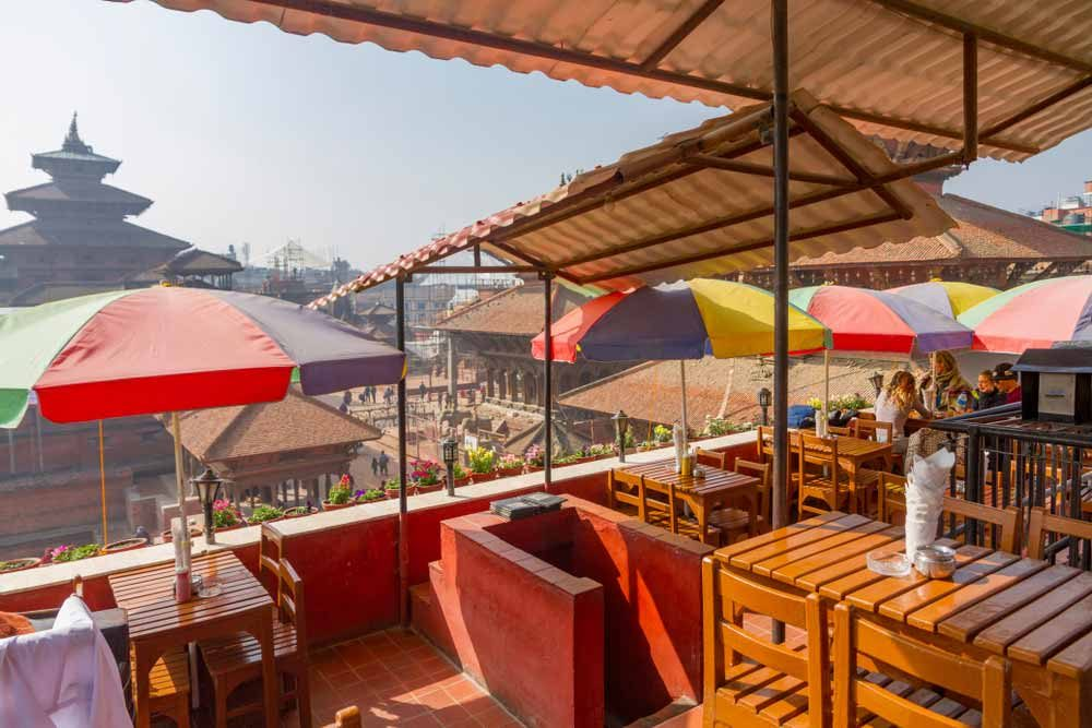 Kathmandu isn't only beautiful sites but also cosy cafes and restaurants — Darkydoors / Shutterstock 6 easily walkable cities around the world