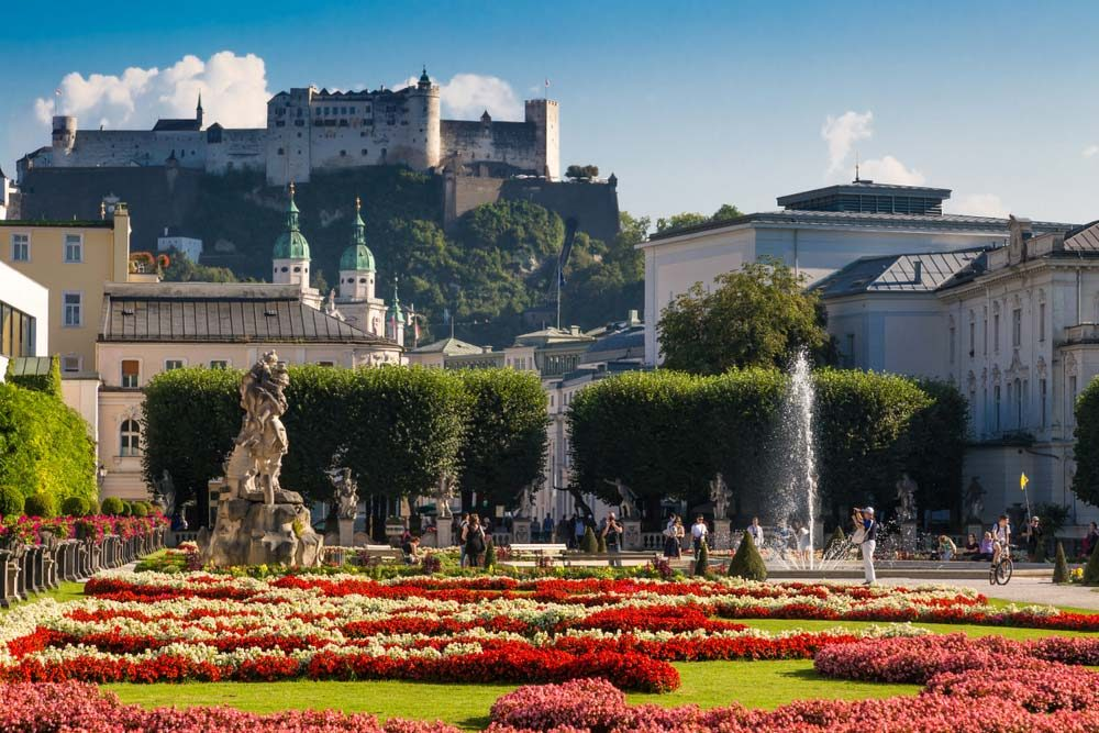 The Mirabell Palace and Gardens is an 18th-century ensemble of a number of smaller gardens and fountains, such as the Dwarf Garden, Orangery, or the Pegasus Fountain — NiglayNik / Shutterstock 6 easily walkable cities around the world