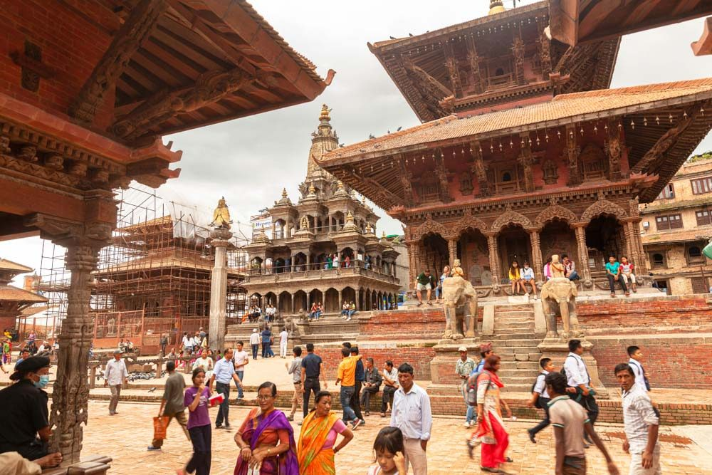 Kathmandu not only has beautiful sites, but also cosy cafés and restaurants — Cortyn / Shutterstock
