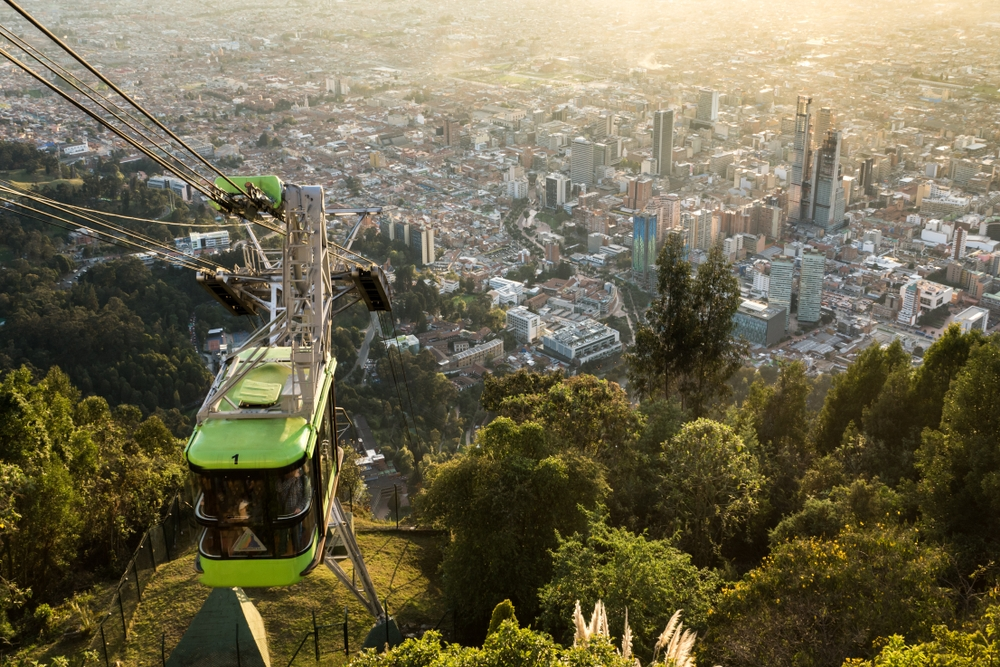 The mount Monserrate is a heaven for hikers, but there is also a funicular leading to the top — Shutterstock