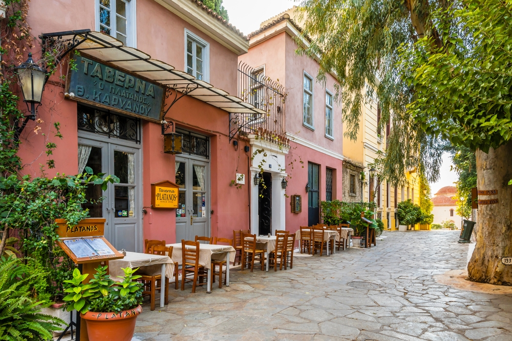 With colourful and cosy streets featuring many restaurants and souvenir shops. Plaka offers the calmer and more intimate of Athens — Nejdet Duzen / Shutterstock Travel guide to Athens: history, incredible food and everlasting sunshine