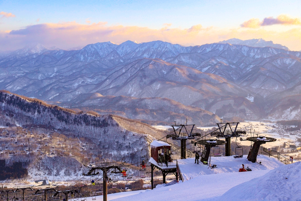 Hakuba Valley hoste a number of events during the 1998 Winter Olympics — Shutterstock 6 best places to travel in December 2019