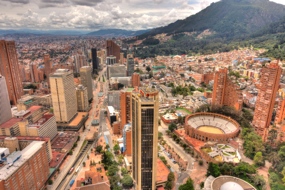 Bogotá is the third highest capital of South America — mehdi33300 / Shutterstock
