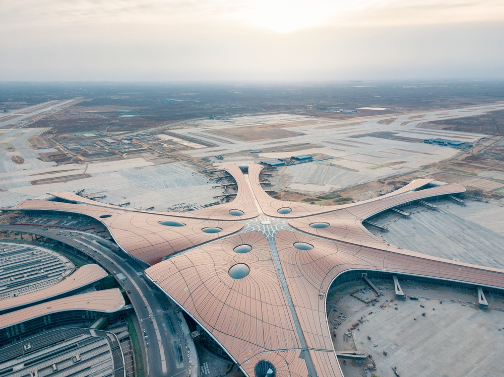 By 2040, Daxing airport should serve up to 100 million passengers a year —lazy dragon / Shutterstock China's new biggest airport approves four domestic airlines Daxing