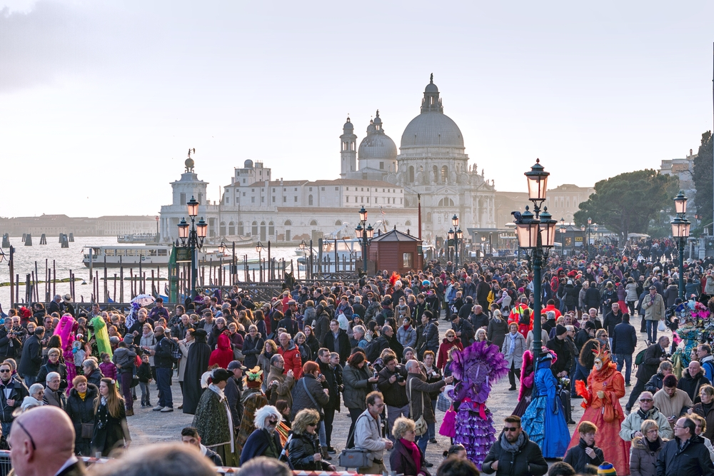 Venice has become an embodiment of the overtourism phenomenon — Kefca / Shutterstock