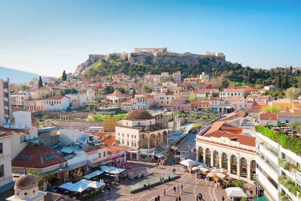 Like other hilltop sites in ancient Greece, the Acropolis — or the high city — was both the place of worship or refuge when under attack — Shutterstock Travel guide to Athens: history, incredible food and everlasting sunshine