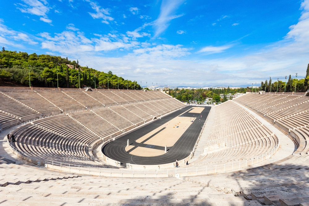 The all-marble Panathenaic Stadium hosted the opening and closing ceremonies of the first modern Olympics in 1896— Shutterstock Travel guide to Athens: history, incredible food and everlasting sunshine