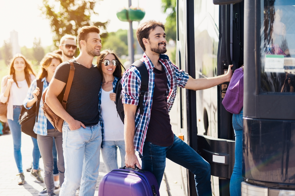 From New York to Berlin by plane, then to Vienna by bus. Everything is possible and passenger is the one who decides — Shutterstock