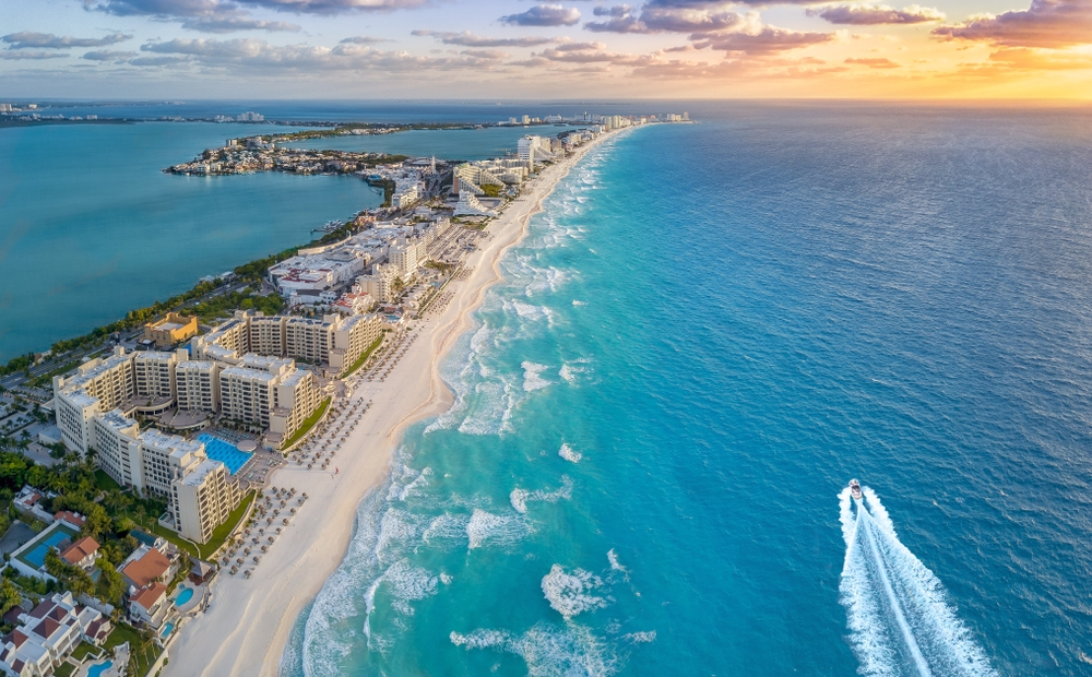 Cancun is a favorite vacation destination for many Americans — Shutterstock