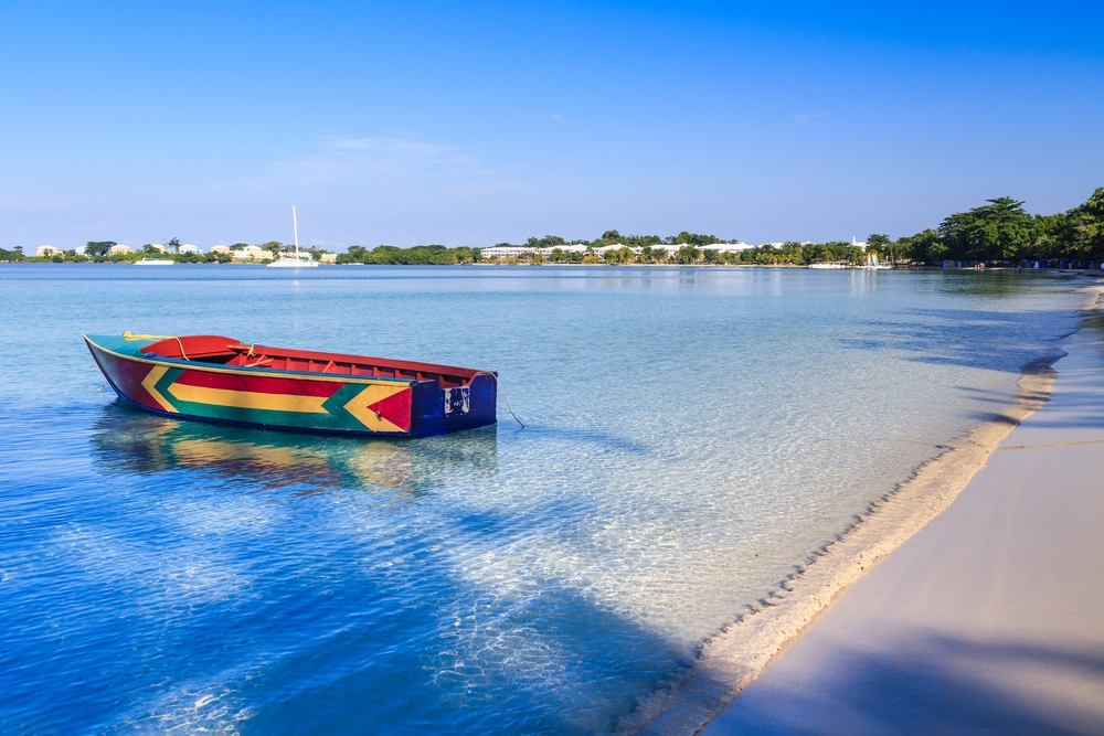 The Caribbean with its sandy beaches and crystal clear waters is also up there — Shutterstock