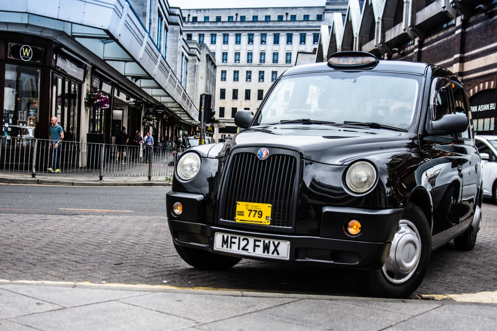 Liverpool has 1,426 wheelchair-accessible taxis, which is the equivalent of 2.9 per 1,000 people — lukian025 / Shutterstock