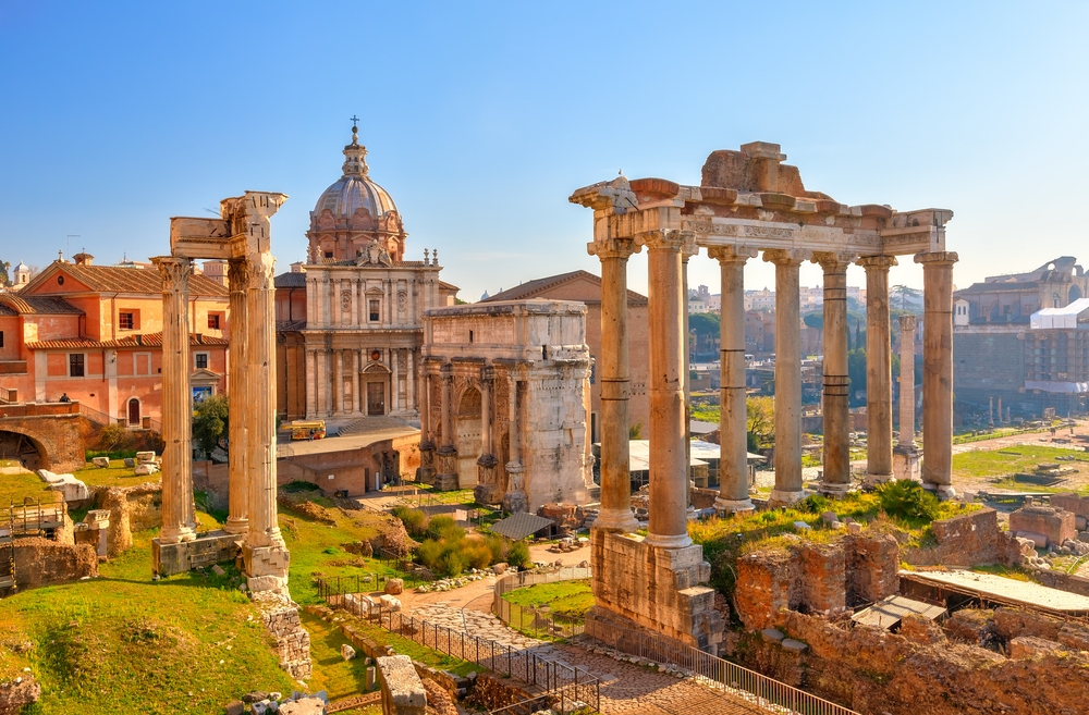 Rome with dramatic sceneries tops the ranking — Shutterstock