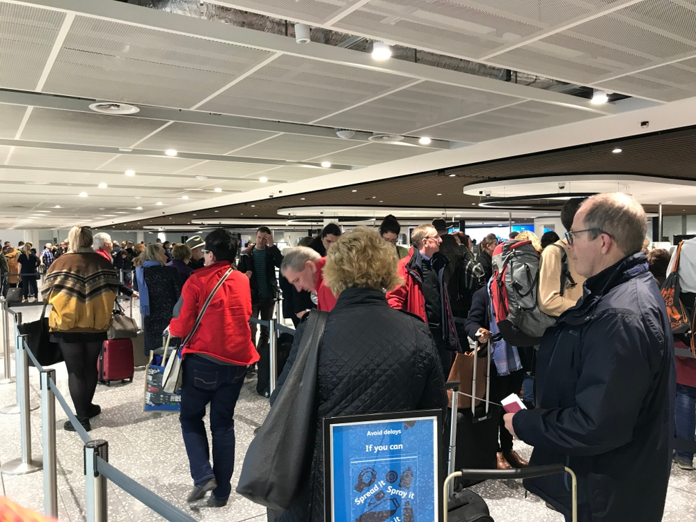 The UK airports with the worst security waiting times were Manchester and Belfast — Kollawat Somsri / Shutterstock