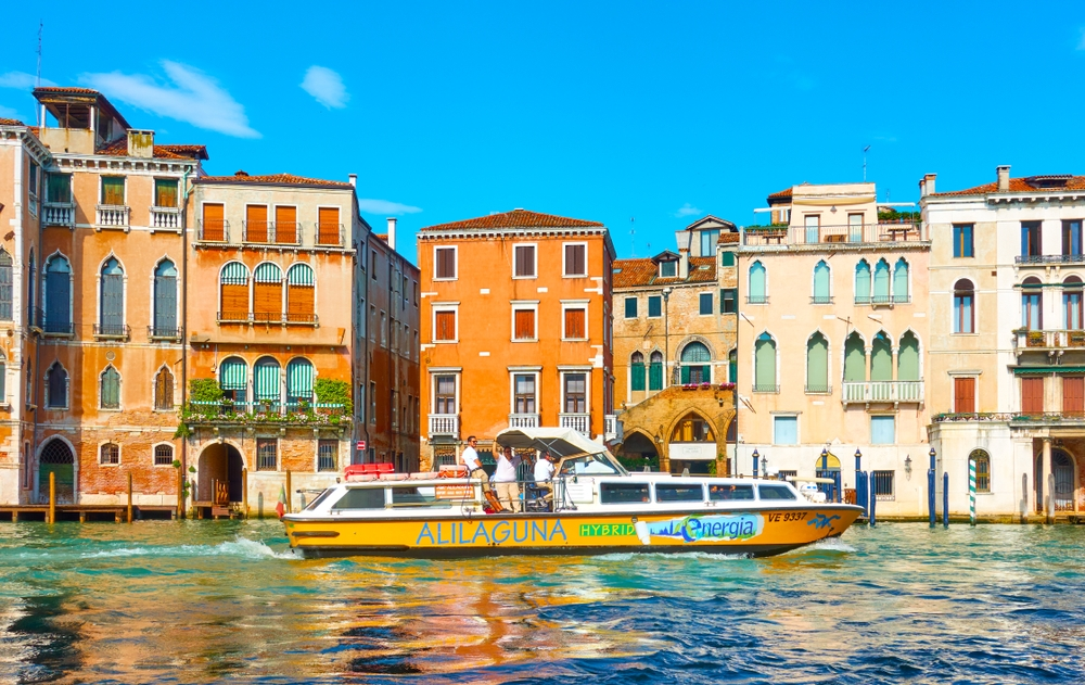 Venice is the only place in the world where you can use a boat taxi service to get from the airport — Roman Sigaev / Shutterstock Venice: the most beautiful stopover you'll ever have