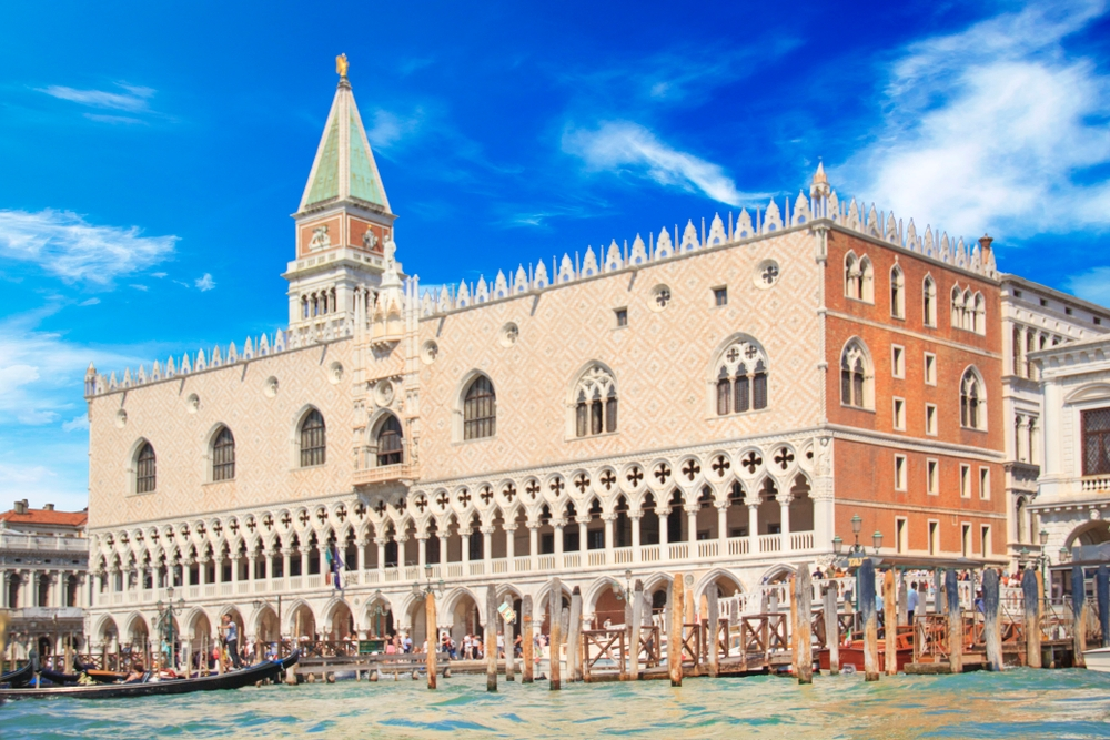 One of the most interesting places to visit is the Doge's Palace, former home of the Doge of Venice — Shutterstock Venice: the most beautiful stopover you'll ever have