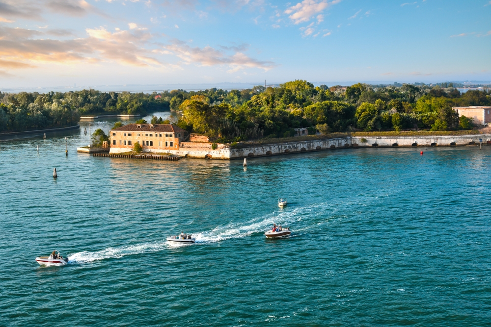 Sant'Andrea is an island in the Venice lagoon and is home to a 17th-century fortress — Kirk Fisher / Shutterstock Venice: the most beautiful stopover you'll ever have