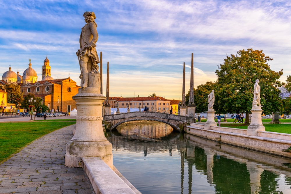 Padua offers a gorgeously dense network of arcaded streets and bridges over the Bacchiglione river — Shutterstock Venice: the most beautiful stopover you'll ever have
