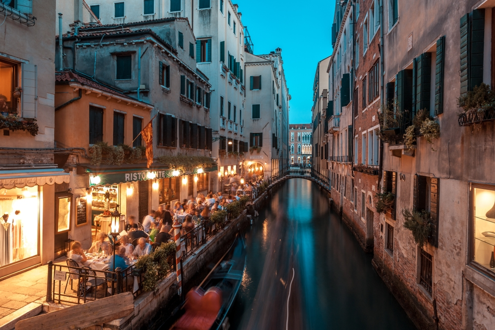 Get slightly lost among the lanes and bridges and you might just find that perfect little wine bar or friendly trattoria — k_samurkas / Shutterstock Venice: the most beautiful stopover you'll ever have