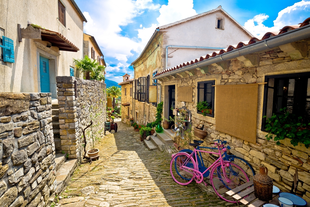 Croatia's town of Hum is the smallest in the world — Shutterstock 15 random and quirky facts about Europe15 random and quirky facts about Europe