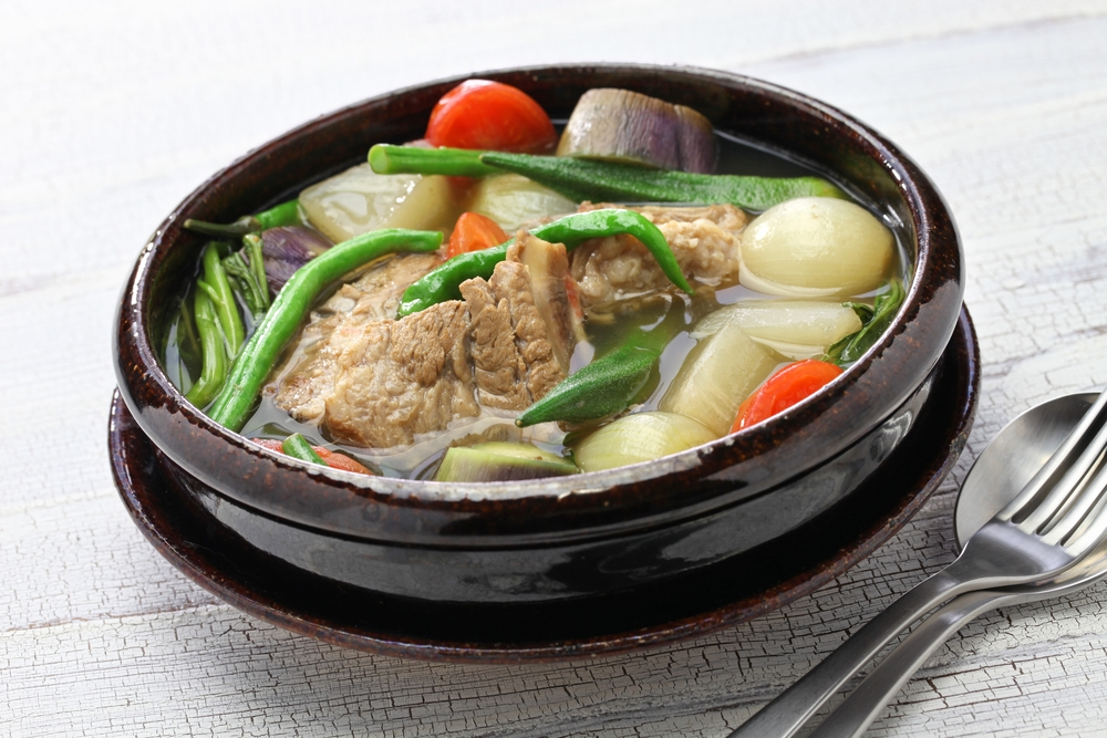 Sinigang one of loads of examples of how Philippinos prepare pork — Shutterstock